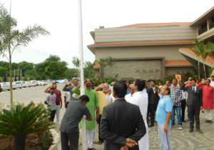 Flag Hoisting Ceremony