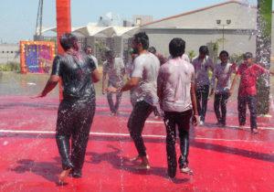 Holi Rain Dance